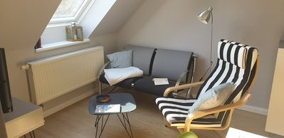 Photo for Lovingly renovated apartment with south-facing balcony in a quiet location on the Baltic Sea