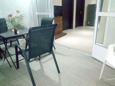 Photo for Nice apt near the beach and terrace