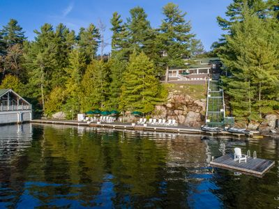 Photo for Breakwater ~ Exclusive Beaumaris lakehouse on Lake Muskoka