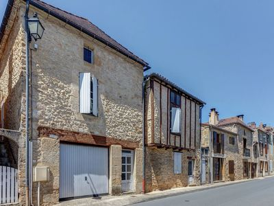 Photo for Magnificent holiday home with stunning view on medieval Belvès