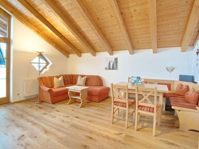 Photo for 2 room apartment with sauna, ski cellar, bicycle cellar