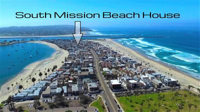 Prime location between the beach and bay