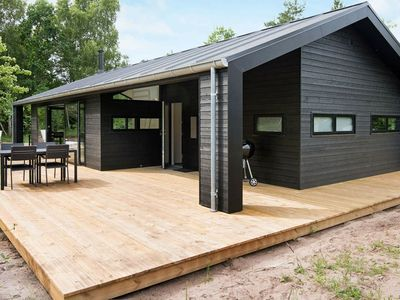 Photo for Modern Holiday Home in Glesborg with Private Whirlpool