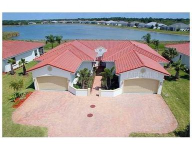Photo for WATERFRONT VILLA WITH POOL ACROSS FROM GOLF COURSE!