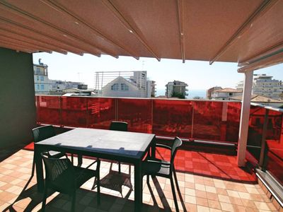 Photo for Artesi apartment PENTHOUSE TERRACE 50sqm with sea view NEW WONDERFUL Jesolo