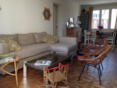 Photo for Charming 3 rooms of 70 m2 near the port and the beach