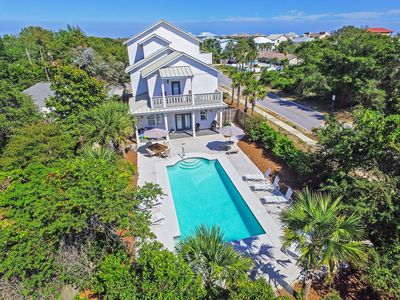 Photo for Doodlebug Cottage | Weddings | Private Heated Pool | Beach Views