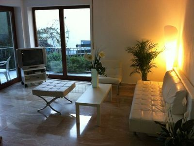 Photo for Beautiful apartment with terrace and garden near Legoland