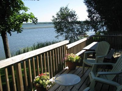 Photo for Private Waterfront Cottage, Less Than 10 Mins Drive To Sandbanks