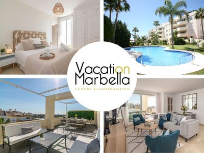 Photo for ELEGANT FLAT FOR A HOLIDAY TO REMEMBER IN THE HEART OF MARBELLA'S GOLDEN MILE