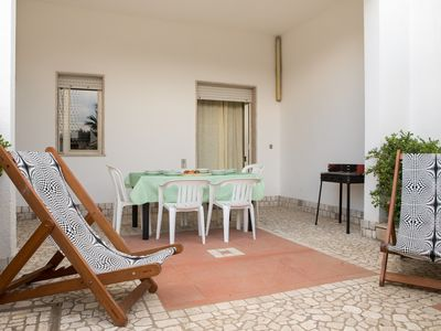 Photo for Villa near equipped beaches, Bay of Torre Lapillo, 3 rooms, internet