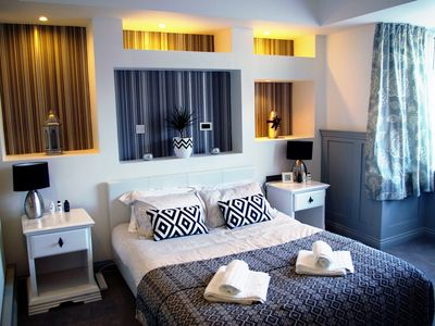 """Photo for Humberstone House - Luxury Bedrooms - 55"""" TV's - WIFI - Ethernet."""