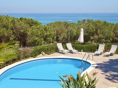 Photo for Villa with free wifi and sea views at walking distance to Arenys de Mar beach, Barcelona - CM319