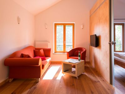 Photo for Modern apartment in the eco-village Brodowin