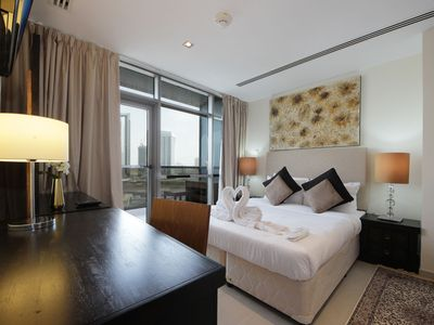 Photo for The Unique Modern 1BR apartment in Spirit Tower , Sports City