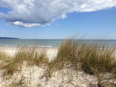 Photo for DIRECTLY ON THE BEACH prora sea view baltic terrace wlan 8 pers