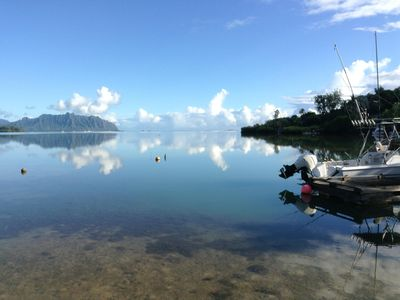 Photo for Kaneohe Bay Front Estate includes Exclusive Day Trip to the K-Bay Sandbar!