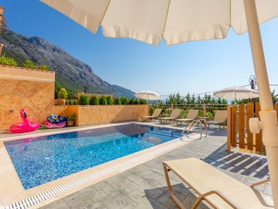 Photo for Villa Bacante: Private Pool, Walk to Beach, Sea Views, A/C, WiFi, Car Not Required, Eco-Friendly