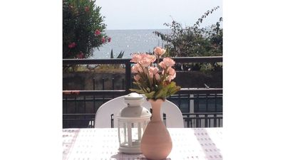 Photo for Holiday home on the sea at the foot of Mount Etna