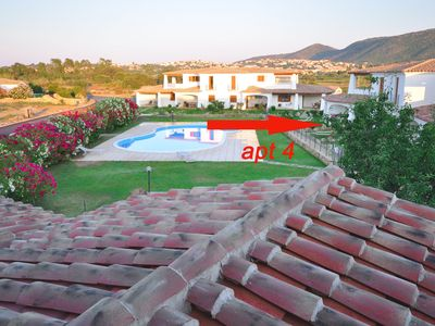 """Photo for Capannizza complex, """"Apt 4 """"with shared pool ,600 meters from beach, free -WIFI"""