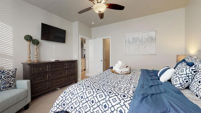 Photo for Blue Cruiser Casita, 4 Bed Master Suite St. George, Utah Vacation Home
