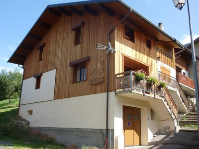 Photo for CHALET IN VALMOREL - THE PIC OF ROGNOLET