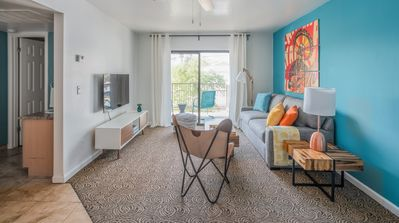 Photo for Cozy 1BR Apartment | Heated Pool by Wanderjaunt
