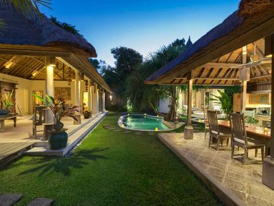 Photo for 2BR Private Pool Villa-Minutes from Seminyak Beach