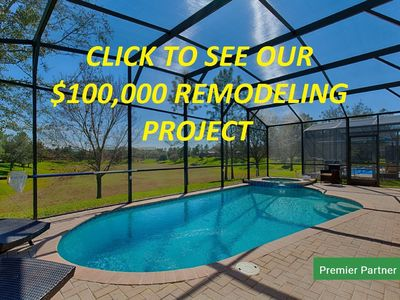 Photo for South Facing Pool - No Rear Neighbors - Recently Updated!