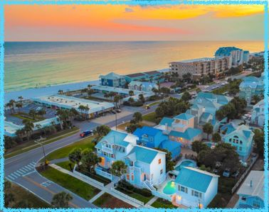 Beach splendor with views and room for all.