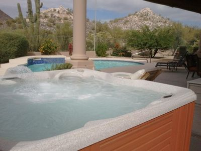 Photo for SANITIZED Pool, Hot Tub, Game Room w/ pool table all in this Troon Estate home- By PADZU