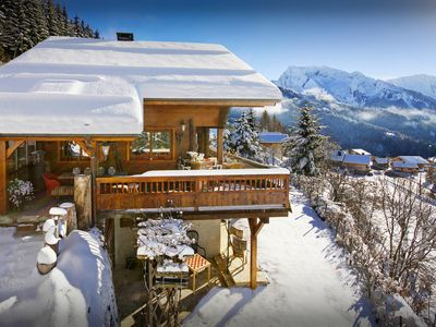 Photo for Explore life in the French Alps from this unique ski chalet - OVO Network