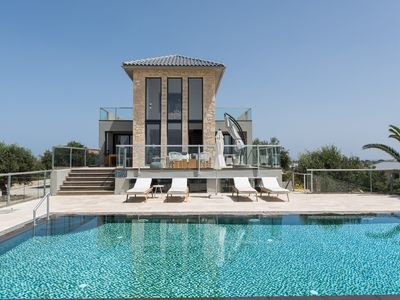 Photo for Luxury Villas with Private Pool, Sea View, Near the Beach, Tennis Court