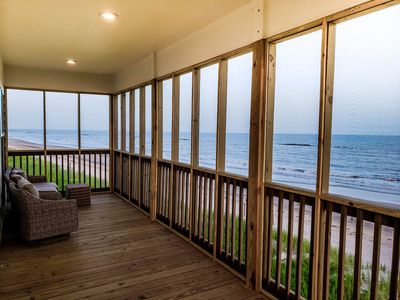 Photo for Remote Beach Front Paradise in Cameron Parish