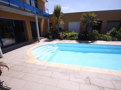 Photo for Holiday villa with pool.