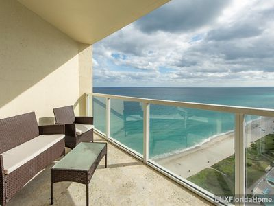 Photo for Beachfront/Oceanfront Condo with Ocean Views - Resort Style Amenities