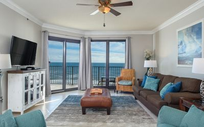 Beach from Living Area Building Center