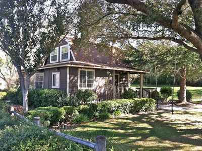 Photo for Best Spot in Los Olivos! Lovely & Private 2-Story Cottage, walk right to town!