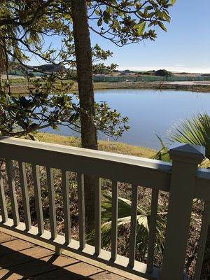 Photo for Renovated 3 Bedroom 3 Bathroom Sparrow Pond Cottage with lagoon view and sunroom