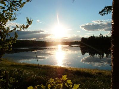 Photo for 2 BR Cottage located on Souris River