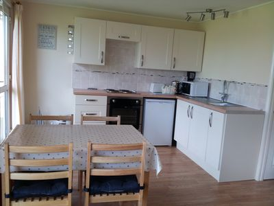 Photo for Lovely, bright bungalow, wonderful countryside views.  FREE pools. Pet friendly