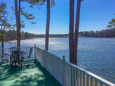 Photo for NEW! Harrod's Hideaway w/Deck+Dock on Lake Norrell