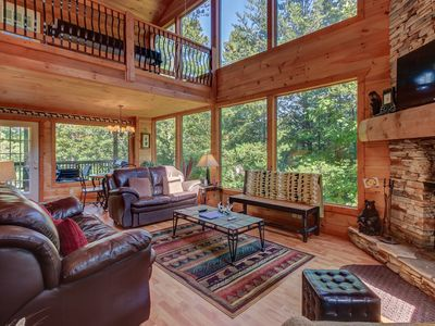 Photo for 2BR Cabin Vacation Rental in Sautee Nacoochee, Georgia