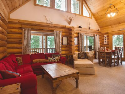 Photo for Big Wood Lodge, WI-FI, Hot Tub, Cable TV, and peak a boo views of the Lake.