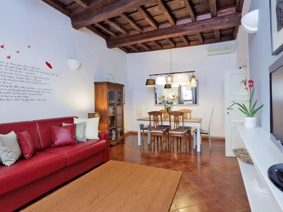 Photo for A charming and traditional one-bedroom apartment, for up to four people, in a wonderfully central ar