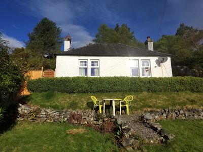 Photo for Secluded cottage very close to Skye Bridge and within Kyle of Lochalsh village.