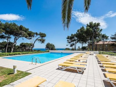 Photo for Seafront Stunning Villa, sleeps 8 w/pool, tennis court - in Cascais