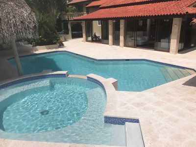 Beautiful Casa De Campo Villa With Resort Type Swimming Pool Completely