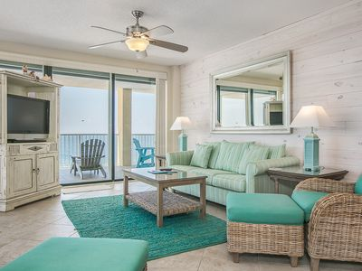 Photo for Summer House 1401A - Gorgeous Upgraded 14th floor beachfront corner condo with amazing views!