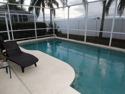 Photo for NEW - Just 2 Miles to Disney! 5 BR Pool Home